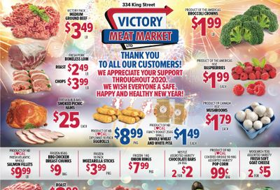 Victory Meat Market Flyer December 29 to January 2