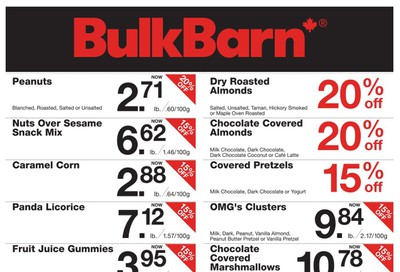 Bulk Barn Flyer January 9 to 15