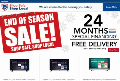 P.C. Richard & Son Weekly Ad Flyer December 29 to January 5