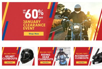 Cycle Gear Weekly Ad Flyer December 29 to January 5
