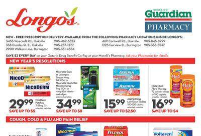 Longo's Pharmacy Flyer December 31 to February 3