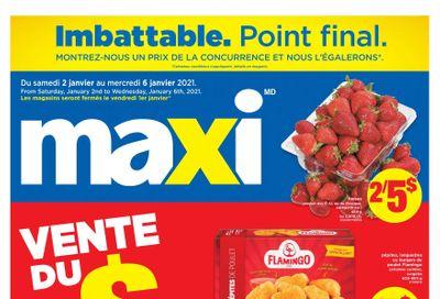 Maxi Flyer January 2 to 6