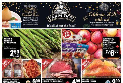 Farm Boy Flyer December 31 to January 6