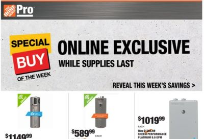 The Home Depot Weekly Ad Flyer December 28 to January 4
