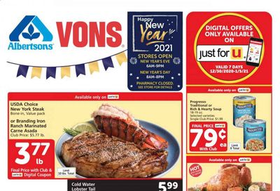Albertsons Weekly Ad Flyer December 30 to January 5
