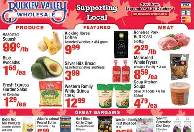 Bulkley Valley Wholesale Flyer September 25 to October 1