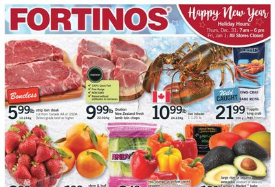 Fortinos Flyer December 30 to January 6