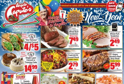 Angelo Caputo's New Year Weekly Ad Flyer December 30, 2020 to January 5, 2021