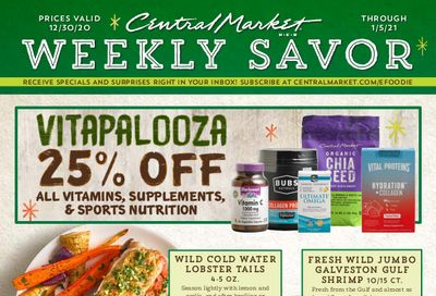 Central Market New Year Weekly Ad Flyer December 30, 2020 to January 5, 2021