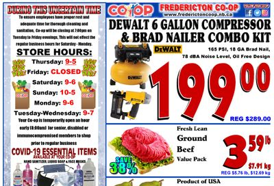 Fredericton Co-op Flyer December 31 to January 6