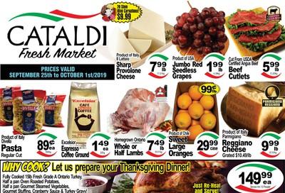 Cataldi Fresh Market Flyer September 25 to October 1
