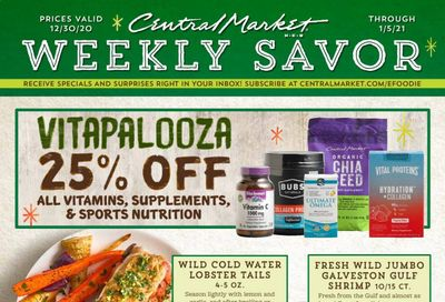 Central Market (TX) Weekly Ad Flyer December 30 to January 5