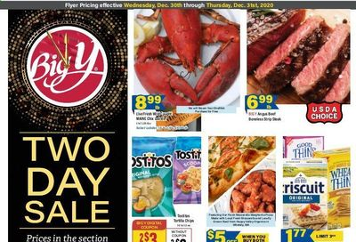 Big Y (CT, MA) Weekly Ad Flyer December 30 to December 31