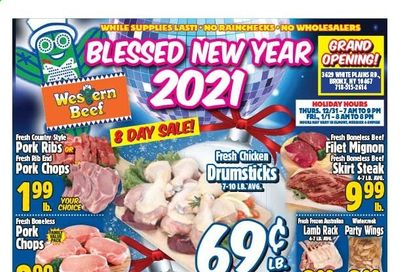 Western Beef Weekly Ad Flyer December 25 to January 1