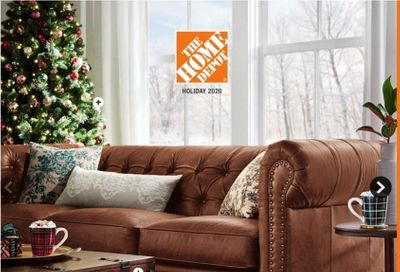 The Home Depot Weekly Ad Flyer October 16 to January 10