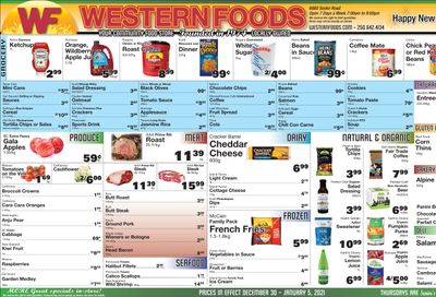 Western Foods Flyer December 30 to January 5