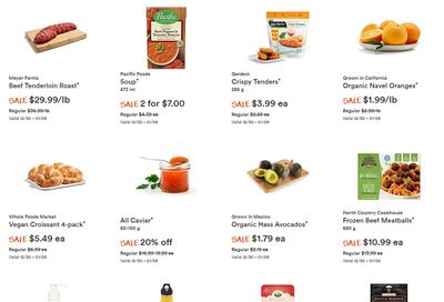 Whole Foods Market (West) Flyer December 30 to January 5