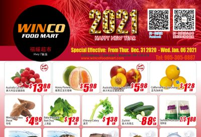 WinCo Food Mart (HWY 7) Flyer December 31 to January 6