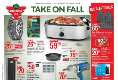 Canadian Tire (ON) Flyer September 27 to October 3