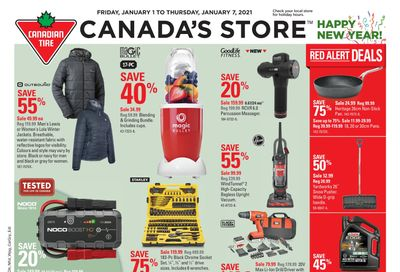 Canadian Tire (West) Flyer January 1 to 7