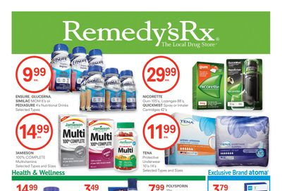 Remedy's RX Flyer January 1 to 28