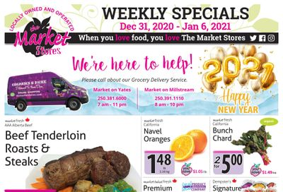 The Market Stores Flyer December 31 to January 6