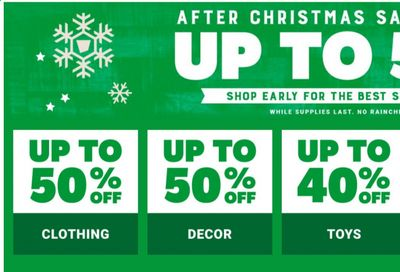 Tractor Supply Co. Weekly Ad Flyer December 31 to January 7