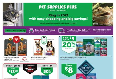 Pet Supplies Plus Weekly Ad Flyer December 31 to January 27