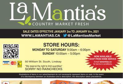 LaMantia's Flyer January 2 to 6