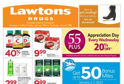 Lawtons Drugs Flyer January 1 to 7