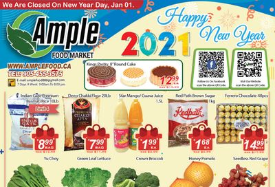 Ample Food Market Flyer January 1 to 7