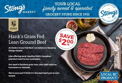 Stong's Market Flyer January 1 to 14