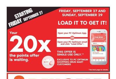 Shoppers Drug Mart (West) Flyer September 28 to October 4