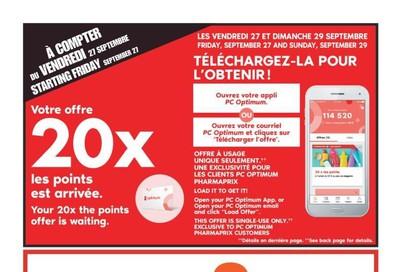Pharmaprix Flyer September 28 to October 4