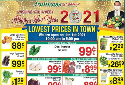 Fruiticana (BC) Flyer January 1 to 6
