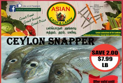 Asian Cash & Carry Flyer January 1 to 7