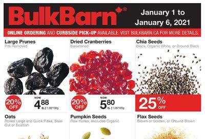 Bulk Barn Flyer January 1 to 6