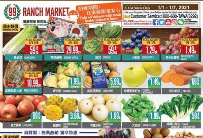 99 Ranch Market (CA) Weekly Ad Flyer January 1 to January 7