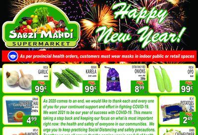 Sabzi Mandi Supermarket Flyer January 1 to 6
