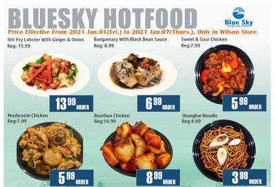 Blue Sky Supermarket (North York) Flyer January 1 to 7