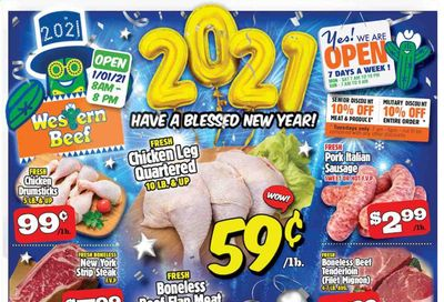 Western Beef Weekly Ad Flyer December 30 to January 5