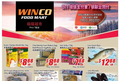 WinCo Food Mart (HWY 7) Flyer January 9 to 15