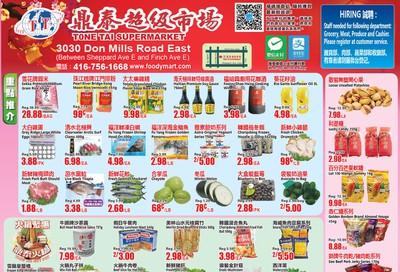 Tone Tai Supermarket Flyer January 10 to 16