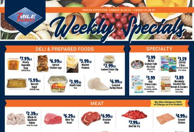 7 Mile Market Weekly Ad Flyer January 3 to January 8, 2021