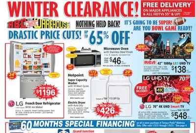 ABC Warehouse Weekly Ad Flyer January 3 to January 9, 2021