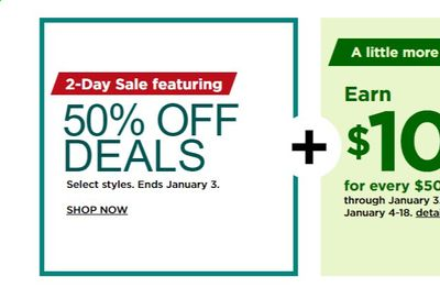 Kohl's Weekly Ad Flyer January 3 to January 10