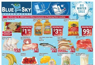 Blue Sky Supermarket (Pickering) Flyer January 10 to 16
