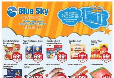 Blue Sky Supermarket (North York) Flyer January 10 to 16