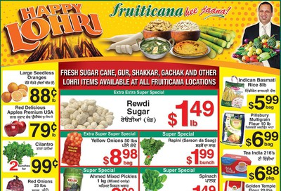 Fruiticana (BC) Flyer January 10 to 15