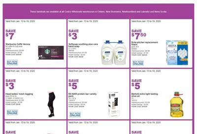 Costco (ON & Atlantic Canada) Weekly Savings January 13 to 19
